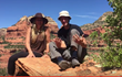Adrian and Anahata in the Sedona Red Rocks