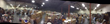 A panoramic shot of the warehouse
