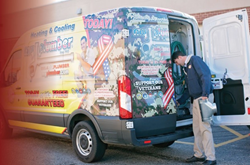 My Plumber Military Support Van