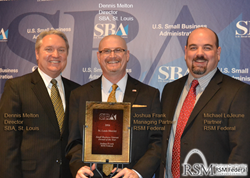 RSM Federal - SBA 2016 Veteran Business of the Year
