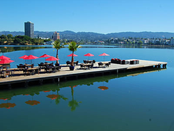 After-party on Lake Merritt