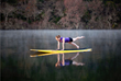 Lake Austin's tranquil waters make for extensive SUP classes offered at Lake Austin Spa Resort.