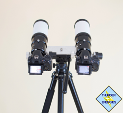 Thunder Energies Corporation 70mm Twin Telescope Surveillance System