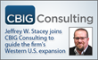 Leading Data Analytics Executive, Jeffrey W. Stacey, Joins CBIG Consulting to Guide Western Expansion