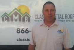 Project and Safety Manager Kevin Scanlon - Classic Metal Roofs LLC
