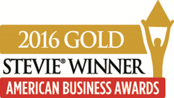 TouchSocial Gold Stevie award