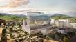 LLUH new hospital complex rendering