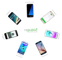 WiFi calling pioneer Republic Wireless to offer smartphones from 4 of the 5 leading Android manufacturers