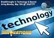 Innovations TV Series Broadcasts New Episode Monday, May 16, 2016 via Discovery