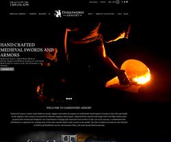 New Darksword Armory Website for Medieval Swords