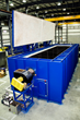 Natural Gas Fired Top Load Oven to Leading Tank Supplier