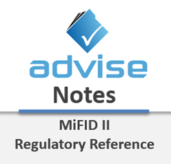 Advise Notes - MiFID II