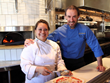 Chef Leslie Pineda (l) and Executive Chef Maurizio Mazzon