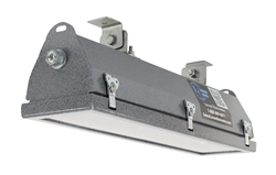 Hazardous Area LED Light Fixture Equipped with Back Mount Swivel Brackets