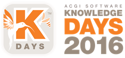 ACGI Knowledge Days 2016