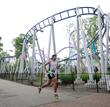 Runner runs past Skyrocket