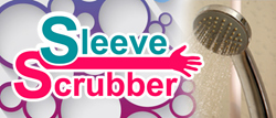 The Sleeve Scrubber is a personal care invention which will provide people with a better way to clean themselves up.