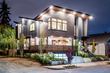 Modern home designed by Winn Architecture and built by Homes By Brent Keys
