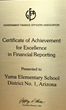 District Upholds 23 Years of Excellence in Financial Reporting and Accountability