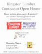 Kitsap Building Association joins Kingston Lumber for May 12th Event