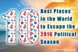 Escape the Political Season