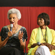 Actresses Lavelle Roby and Margaret Avery (Oscar Nominee)