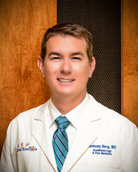 Dr. Anthony Berg, Spine Team Texas Physician