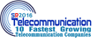 VirtualPBX is Named to List of The Fastest Growing Telecommunications Companies