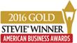 2016 Gold Stevie Award Winner