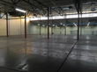 A post-auction view of the warehouse.