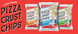 Hello Delicious! Brands Introduces the First Snack Chip Made with Real Pizza Dough