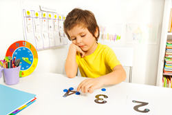 Dot Counter is a simple yet very effective device that can be used to teach basic math concepts to children