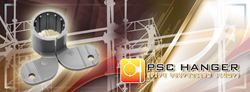 The PSC Hanger is a unique and highly efficient utility patent which will help save on labor and money.