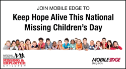 Keep Hope Alive This National Missing Children's Day