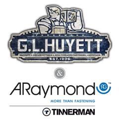 G.L. Huyett announces their Master Distributor status with ARaymond Tinnerman.