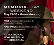Memorial Day Weekend Events to Honor Nation's Heroes at the National World War I Museum and Memorial May 27-30