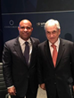 Laurent Lamothe with Sebástian Piñera