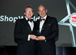 eShopWorld CEO Tommy Kelly receiving the award for Vertical Market Specialist of the Year