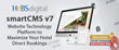 HeBS Digital's smartCMS Website Technology Wins Gold Stevie® Award for Third Consecutive Year