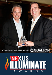 Qualfon Wins Nexus Illuminate Company of the Year Award