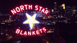 Lawrence Sign Renovates North Star Blankets Historical Sign