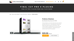 ProZone Shadows - FCPX Plugin - Pixel Film Studios