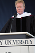 Writer/director Randall Wallace spoke briefly to Liberty University's Class of 2016 at its Commencement.