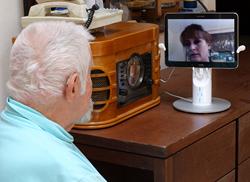 CARE Network on Kubi Telepresence Robot