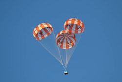 CPAS Capsule Parachute Deployment
