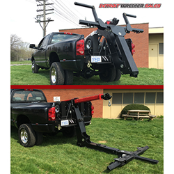The Gladiator Wheel Lift by Detroit Wrecker Sales. The best 'in bed' repo wheel lift on the market.