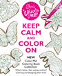 Keep Calm and Color On (and Then Eat the Cookie Artwork from Eleni's New York)