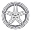 TSW Alloy Wheels- Mechanica in Silver Mirror Cut