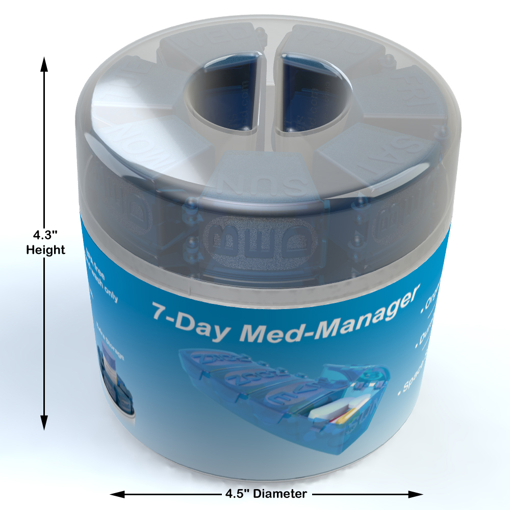 4thought Products Launches 7 Day Med Manager Weekly Pill