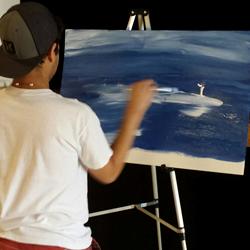 Luis Tirado, teen actor, artist & entrepreneur.